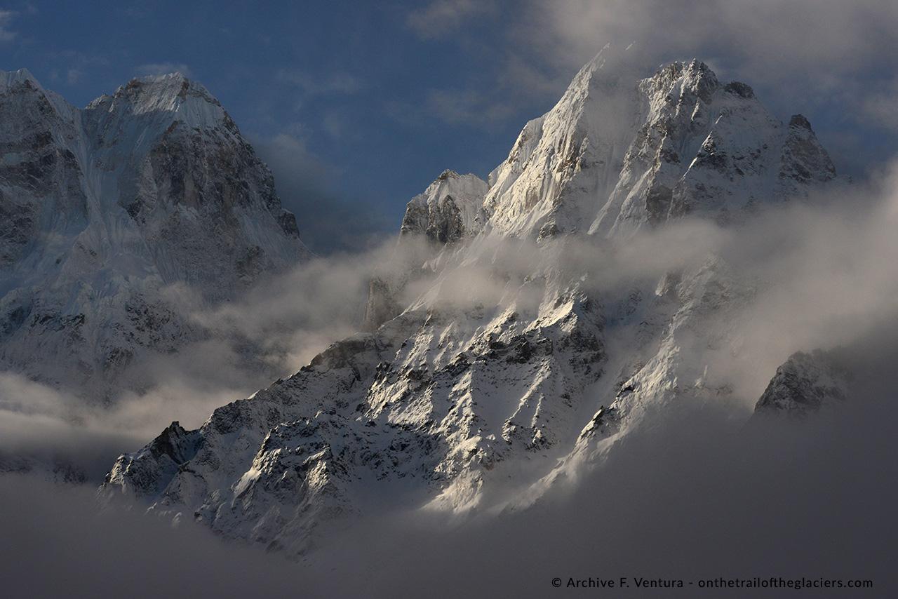 Kangchejunga, the world's third highest mountain.
